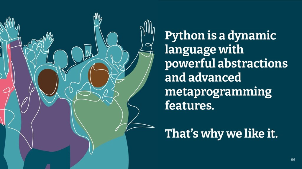 © 2021 Thoughtworks Python is a dynamic languag...