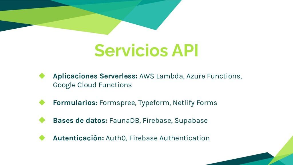 ◆ Aplicaciones Serverless: AWS Lambda, Azure Fu...