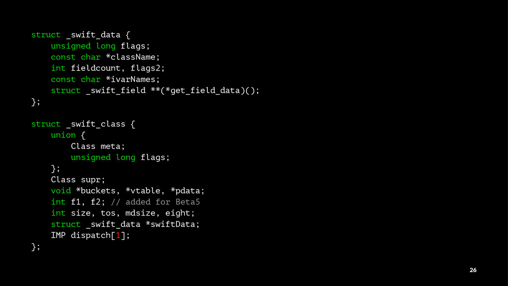 struct _swift_data { unsigned long flags; const...