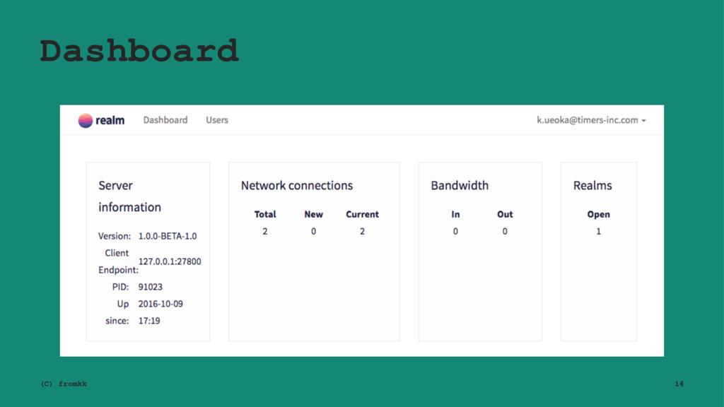Dashboard (C) fromkk 14