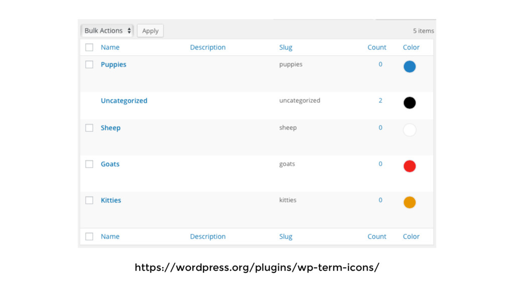 https://wordpress.org/plugins/wp-term-icons/