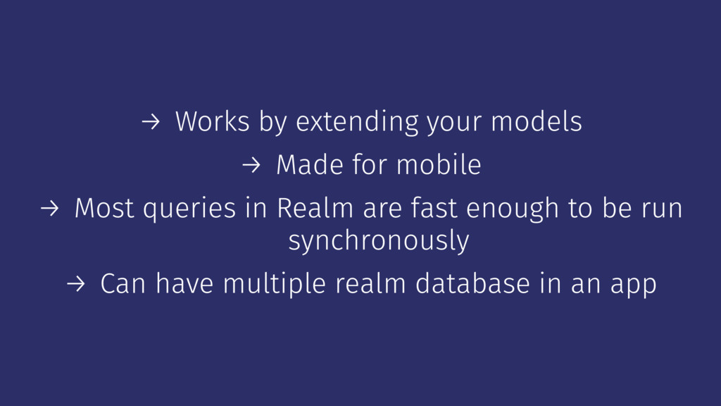→ Works by extending your models → Made for mob...