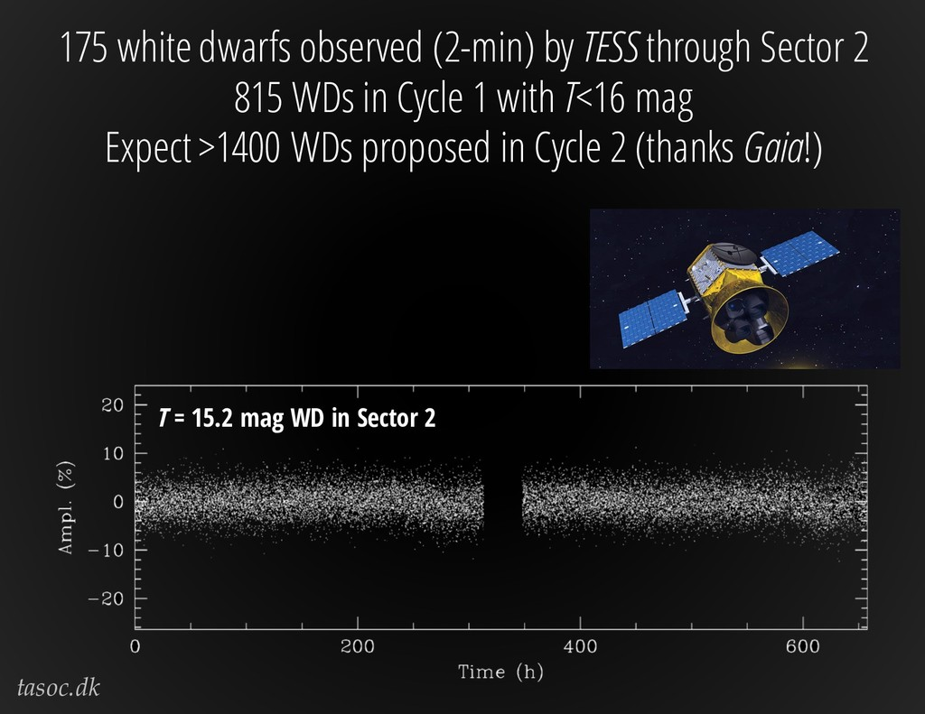 tasoc.dk 175 white dwarfs observed (2-min) by T...