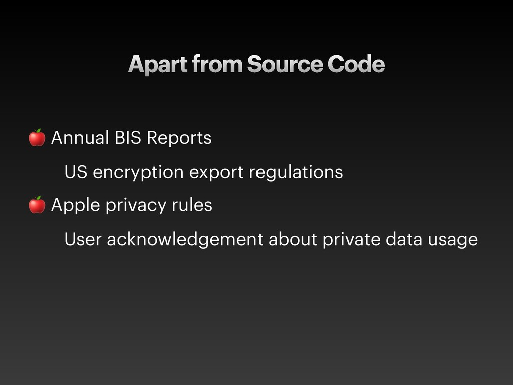Apart from Source Code  Annual BIS Reports US e...