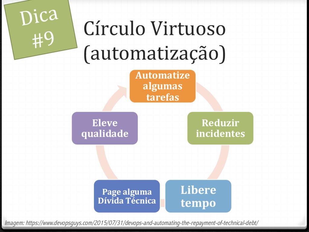 Círculo Virtuoso (automatização) Dica #9 Automa...