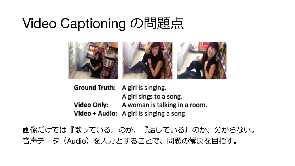 "Video Captioning  #! &* ) "" ..."