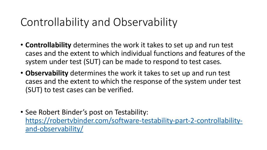 Controllability and Observability • Controllabi...