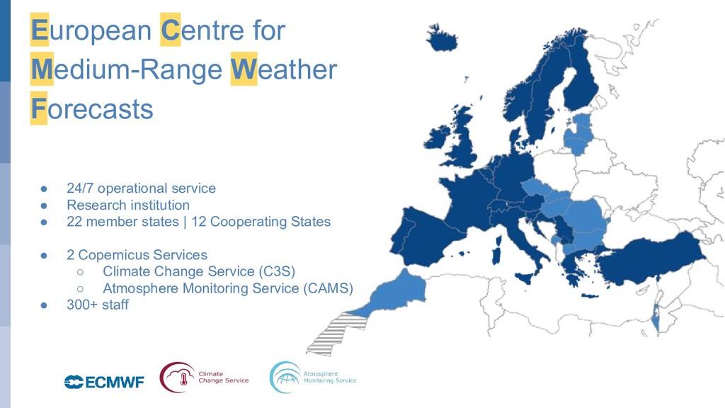 October 29, 2014 European Centre for Medium-Ran...