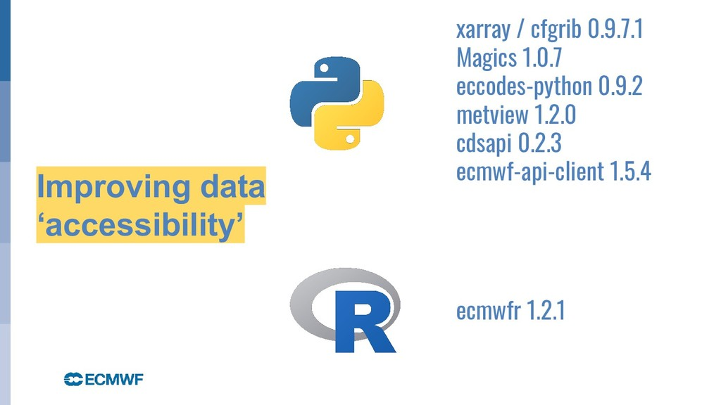 October 29, 2014 Improving data 'accessibility'...