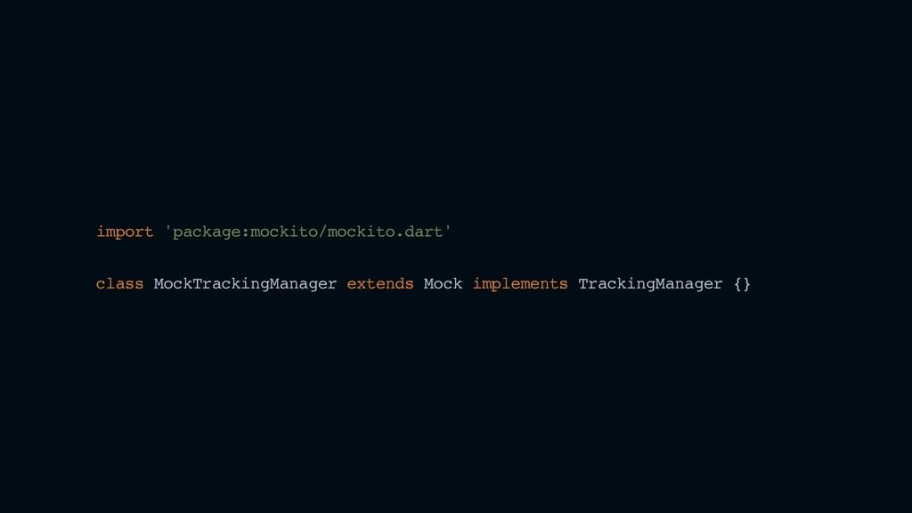 import 'package:mockito/mockito.dart' class Moc...