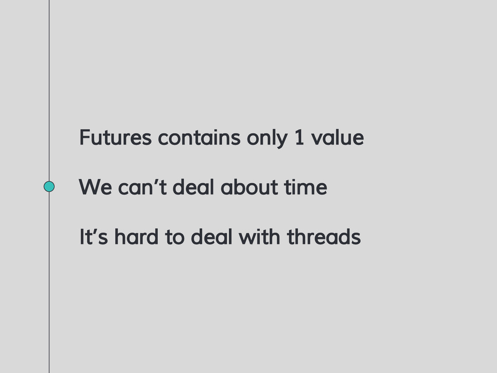 Futures contains only 1 value We can't deal abo...