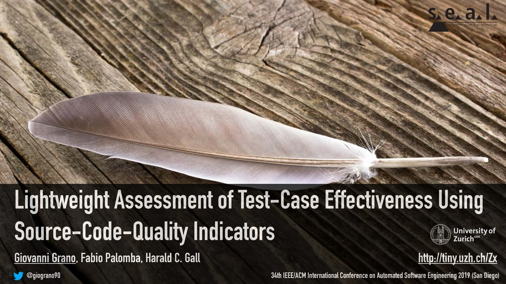 Lightweight Assessment of Test-Case Effectivene...