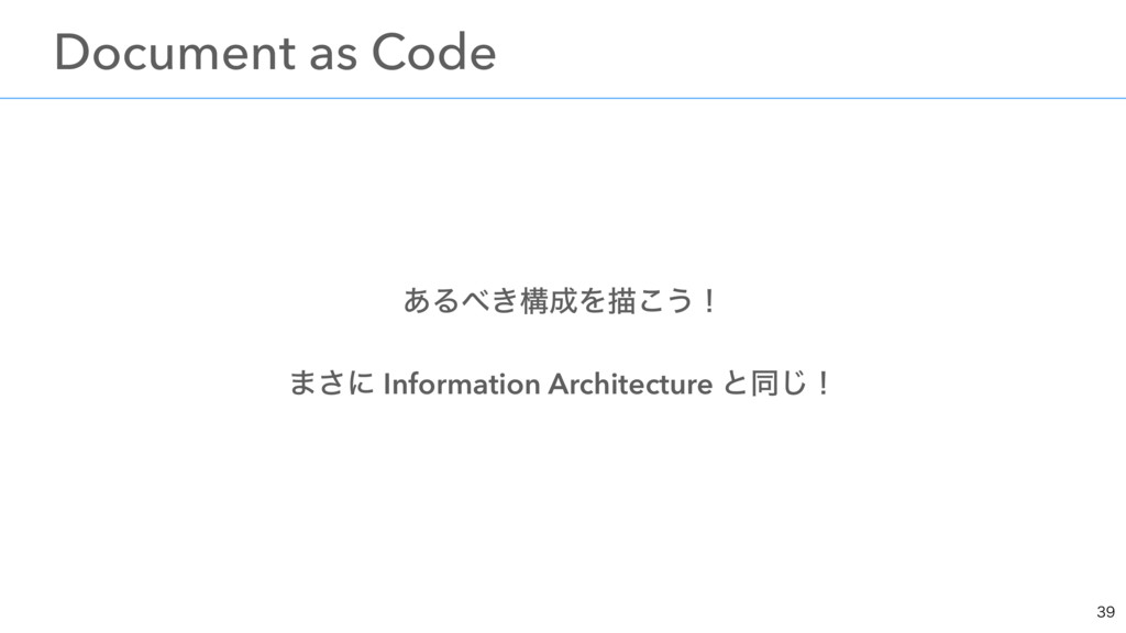 ͋Δ͖ߏΛඳ͜͏ʂ ·͞ʹ Information Architecture ͱಉ͡ʂ ɹ...