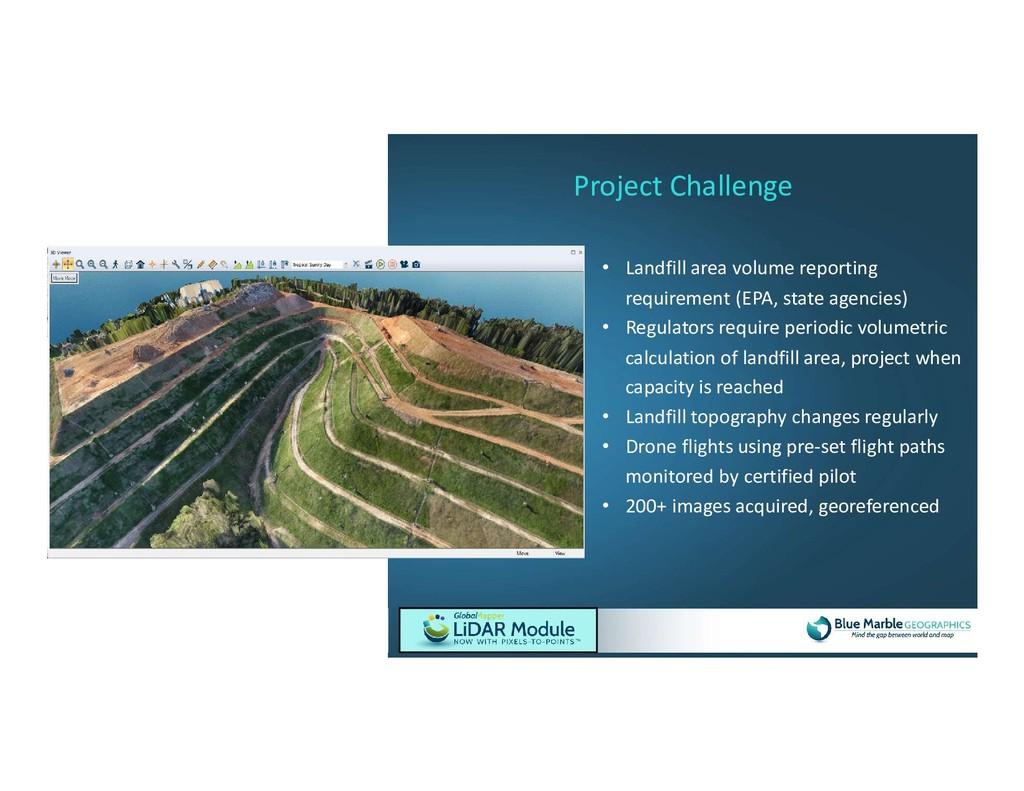 • Landfill area volume reporting requirement (E...