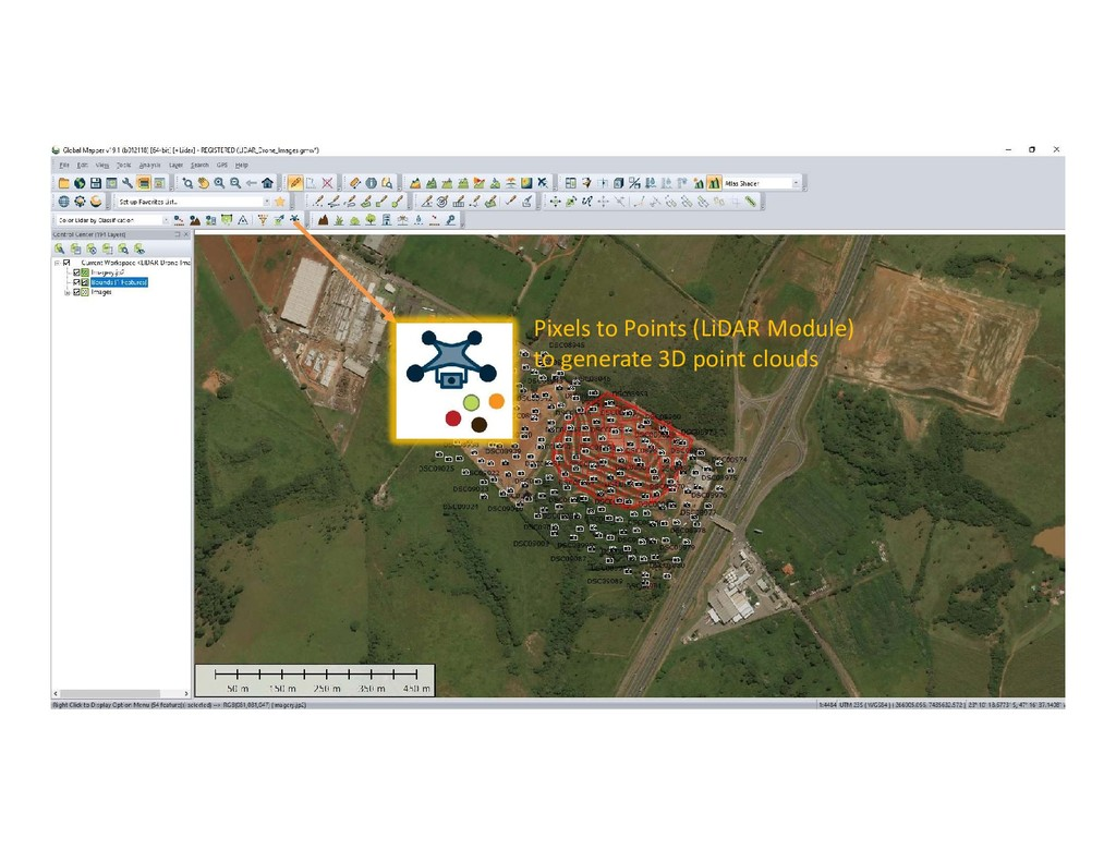 Generating a 3D Point Cloud from UAV Imagery Ba...