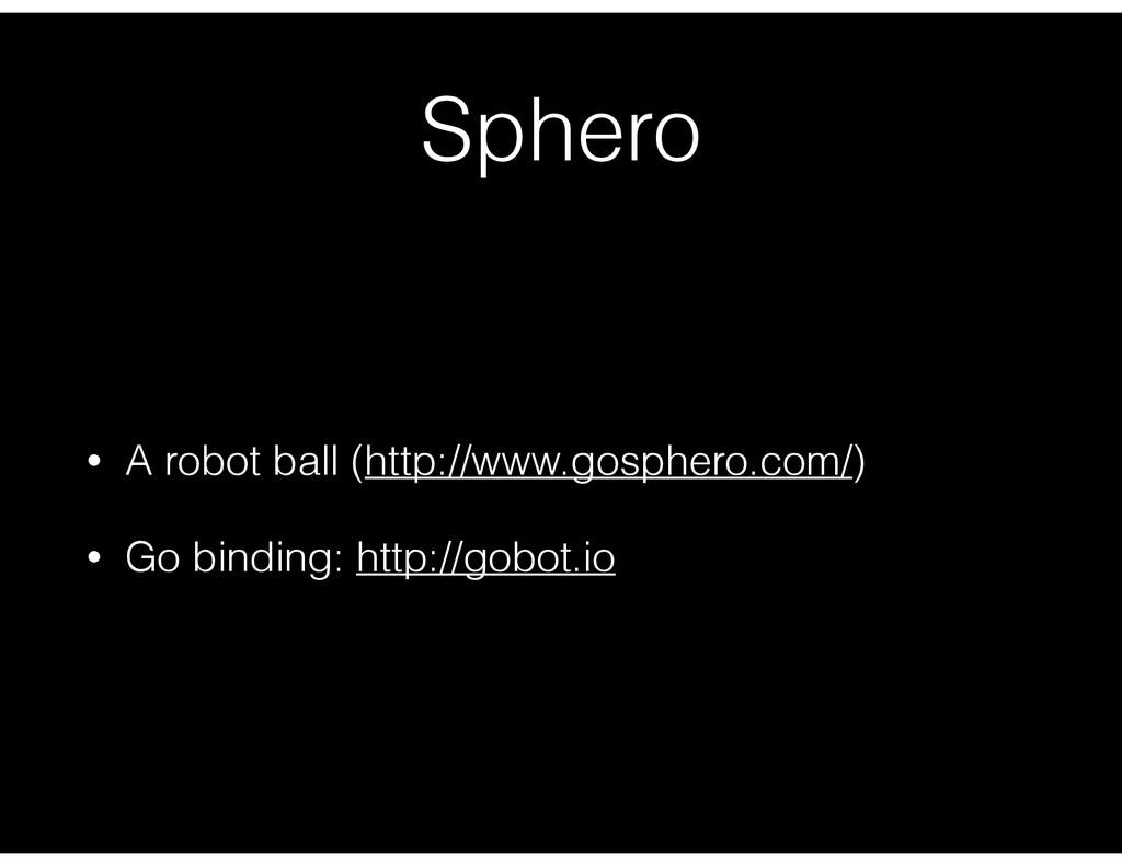 Sphero • A robot ball (http://www.gosphero.com/...