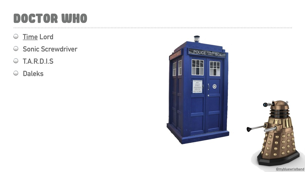 @mybluewristband DOCTOR WHO  Time Lord  Sonic S...