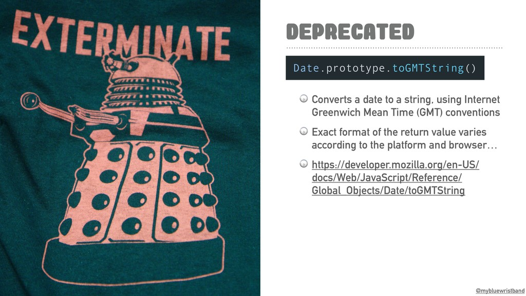@mybluewristband DEPRECATED  Converts a date to...