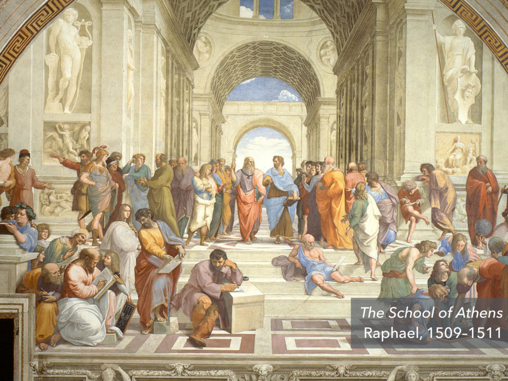 The School of Athens Raphael, 1509–1511