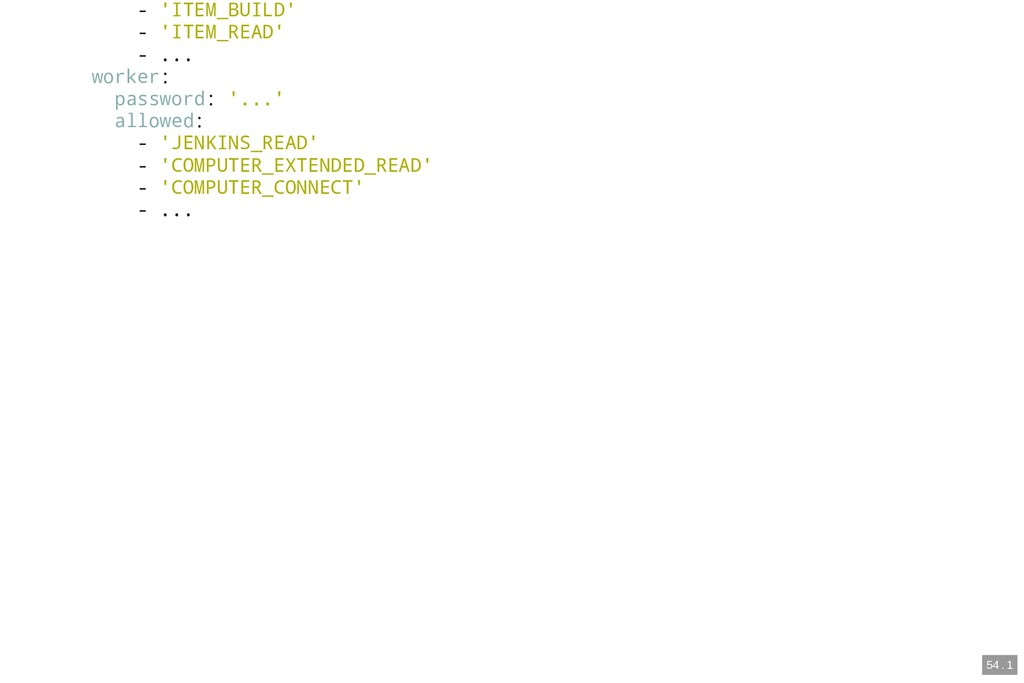 - 'ITEM_BUILD' - 'ITEM_READ' - ... worker: pass...