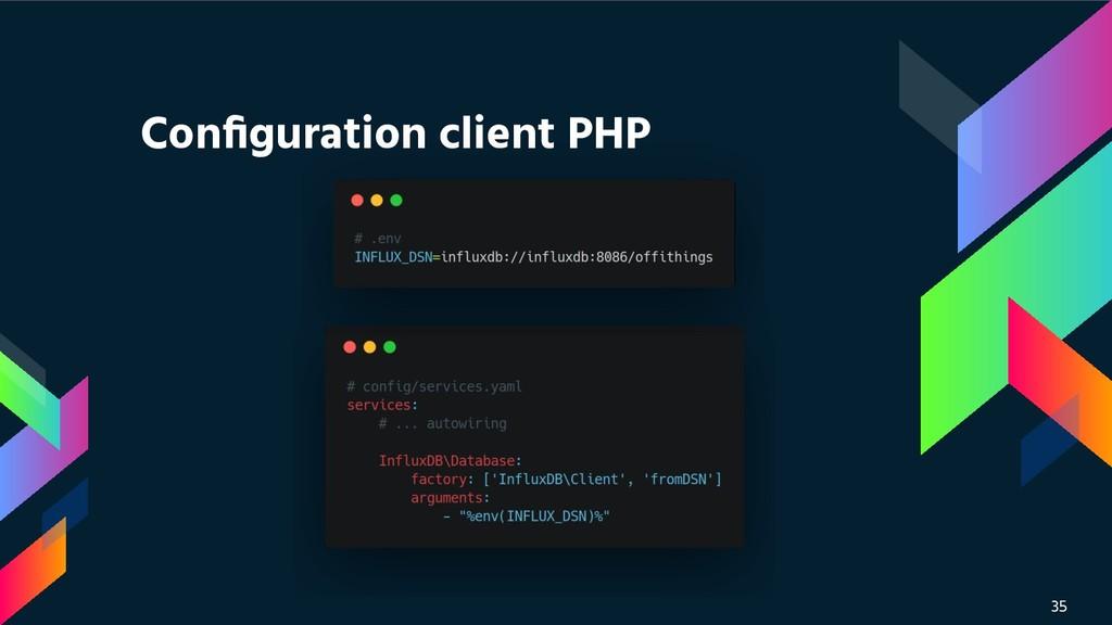 35 Configuration client PHP