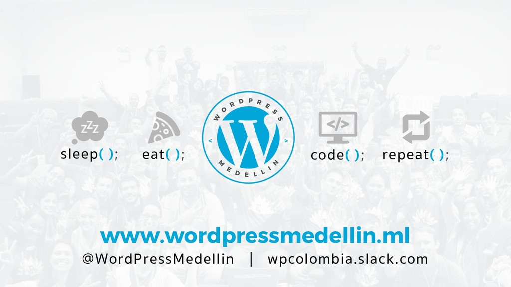 www.wordpressmedellin.ml @WordPressMedellin | w...