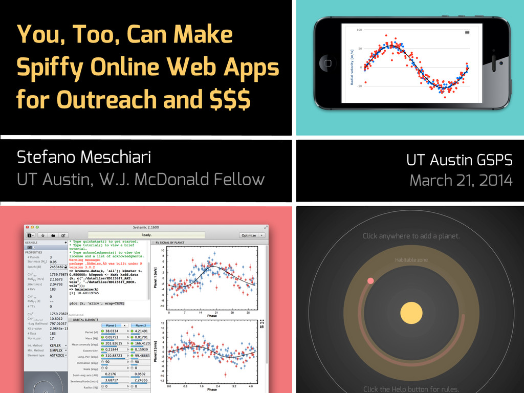 You, Too, Can Make Spiffy Online Web Apps for O...