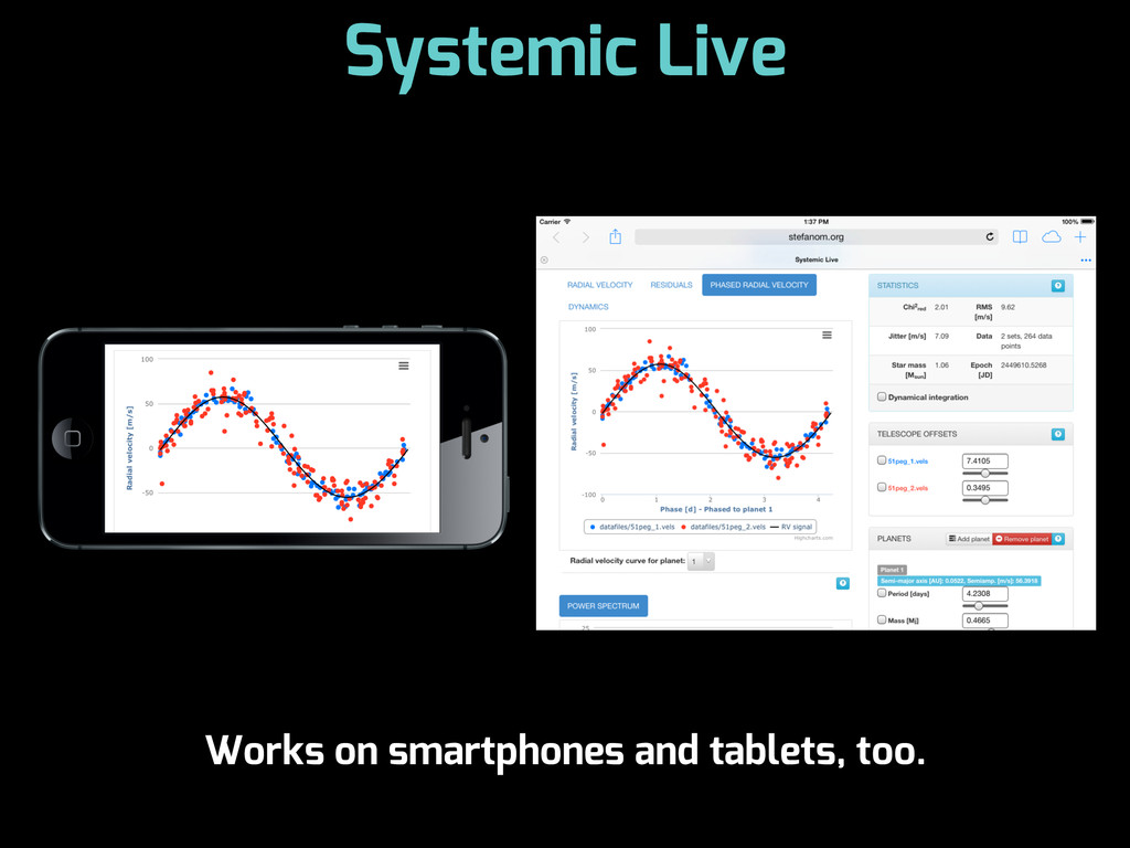 Systemic Live Works on smartphones and tablets,...