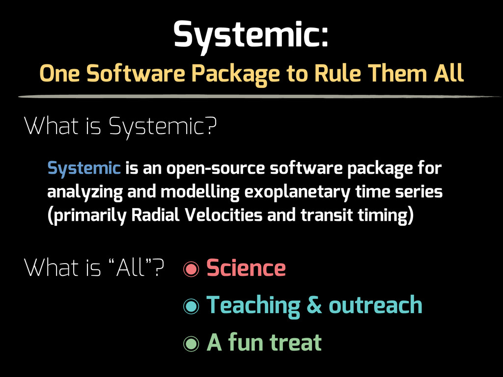 "One Software Package to Rule Them All What is ""..."