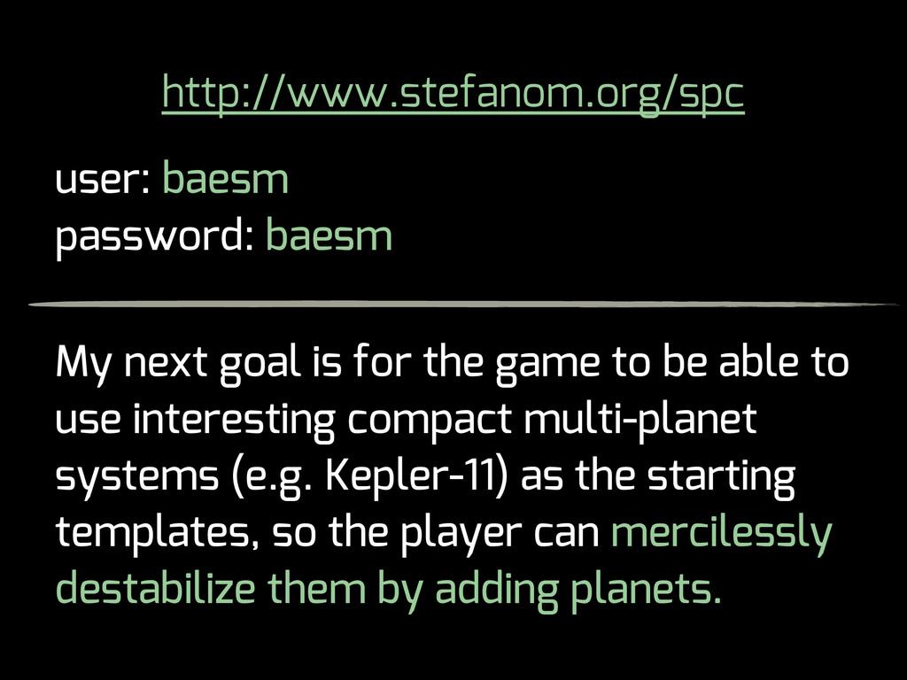 http://www.stefanom.org/spc user: baesm passwor...