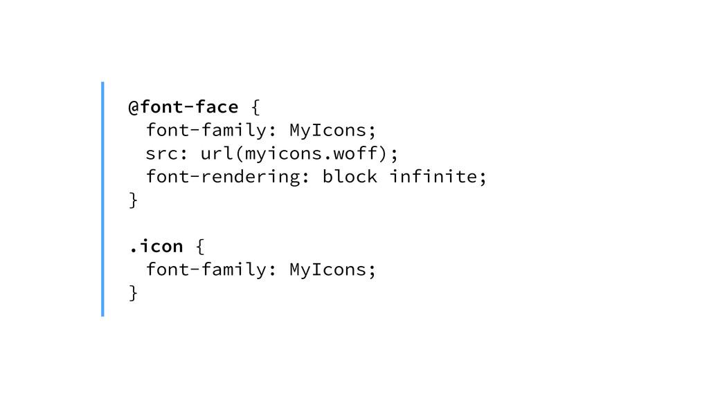 @font-face { font-family: MyIcons; src: url(myi...
