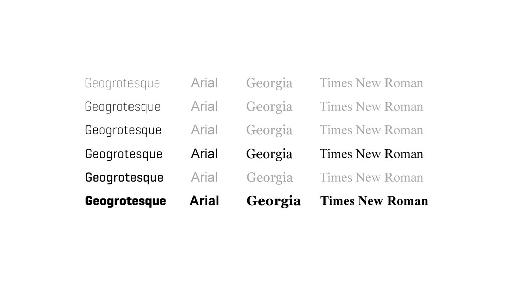 Geogrotesque Geogrotesque Geogrotesque Geogrote...