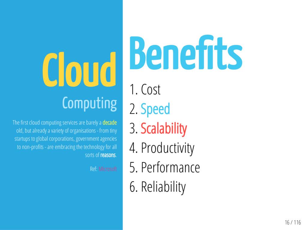 16 / 116 Cloud Computing The rst cloud computin...