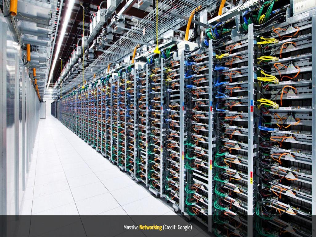 Massive Networking (Credit: Google) 72 / 116
