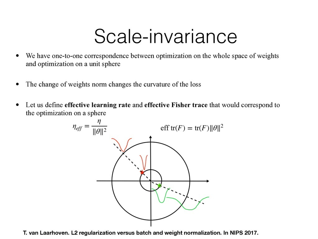 Scale-invariance • We have one-to-one correspon...