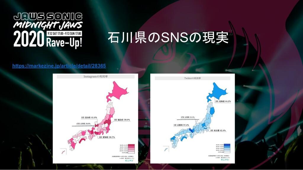 石川県のSNSの現実 https://markezine.jp/article/detail/...