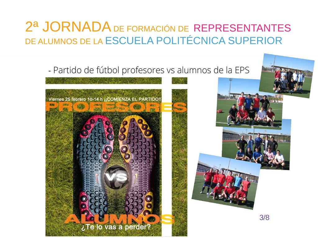 - Partido de fútbol profesores vs alumnos de la...