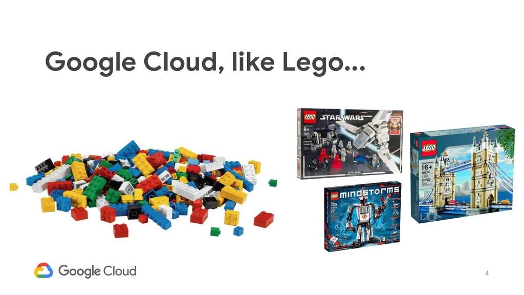 4 Google Cloud, like Lego...