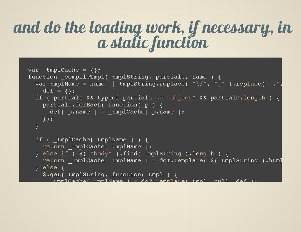 and do the loading work, if necessary, in a sta...