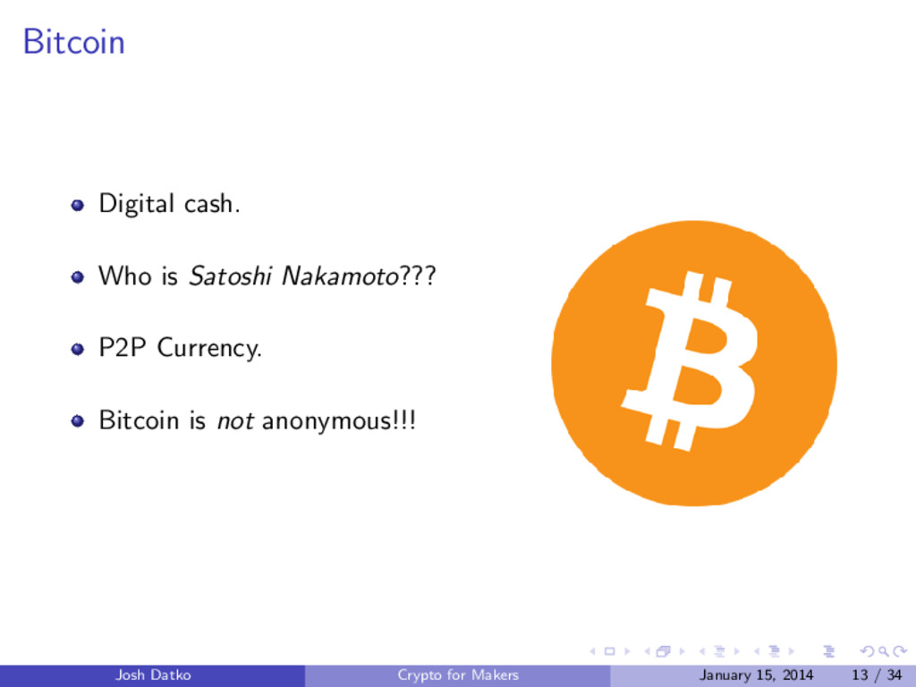 Bitcoin Digital cash. Who is Satoshi Nakamoto??...