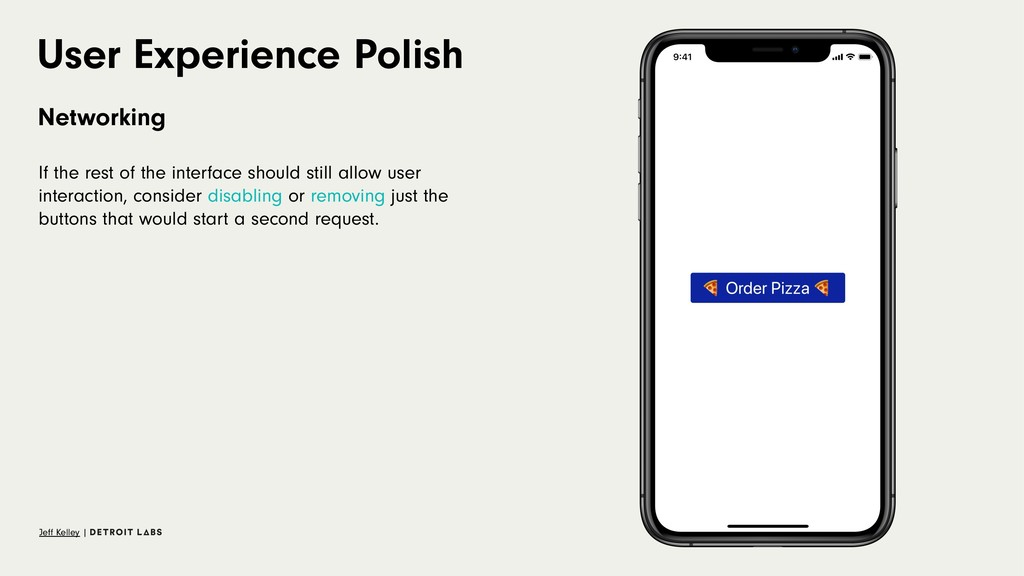 User Experience Polish Networking If the rest o...