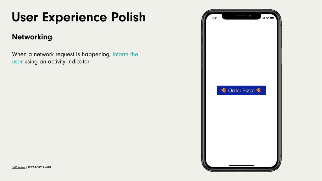 User Experience Polish Networking When a networ...