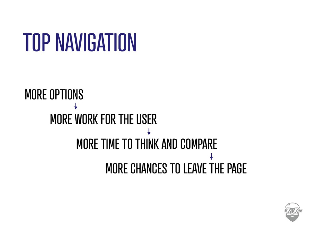 TOP NAVIGATION MORE OPTIONS MORE WORK FOR THE U...