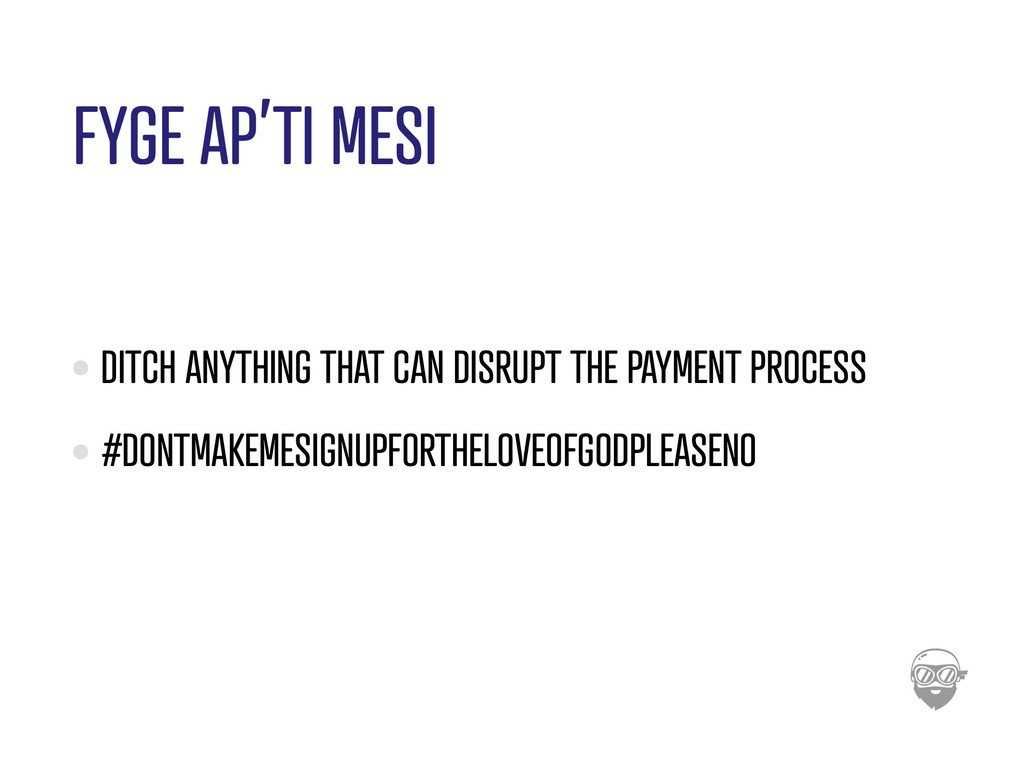 FYGE AP'TI MESI DITCH ANYTHING THAT CAN DISRUPT...