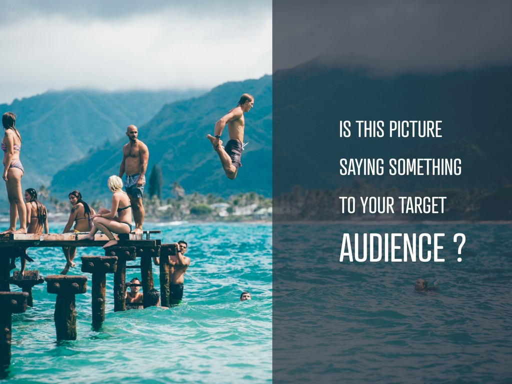 IS THIS PICTURE SAYING SOMETHING TO YOUR TARGET...