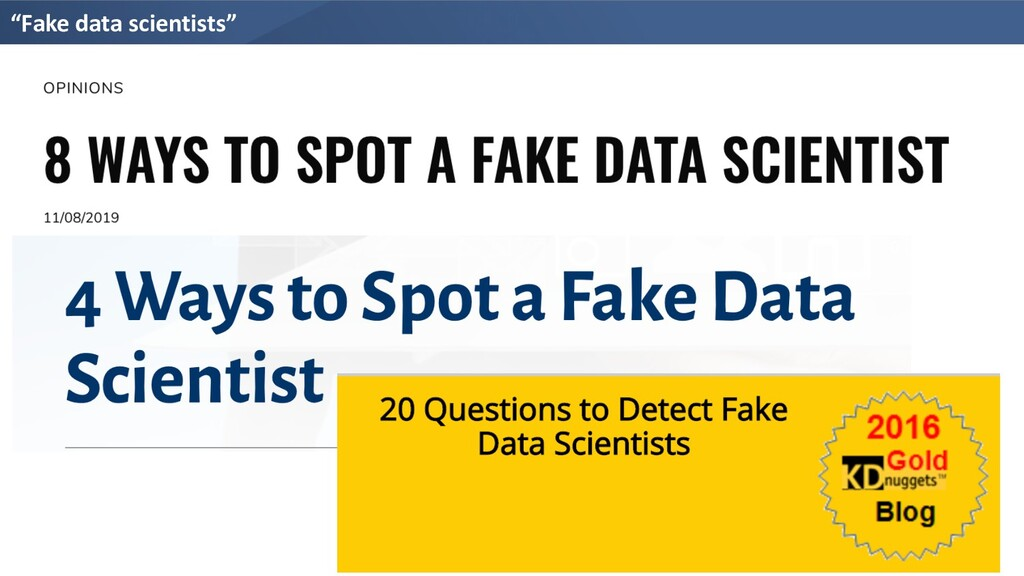"""Fake data scientists"""