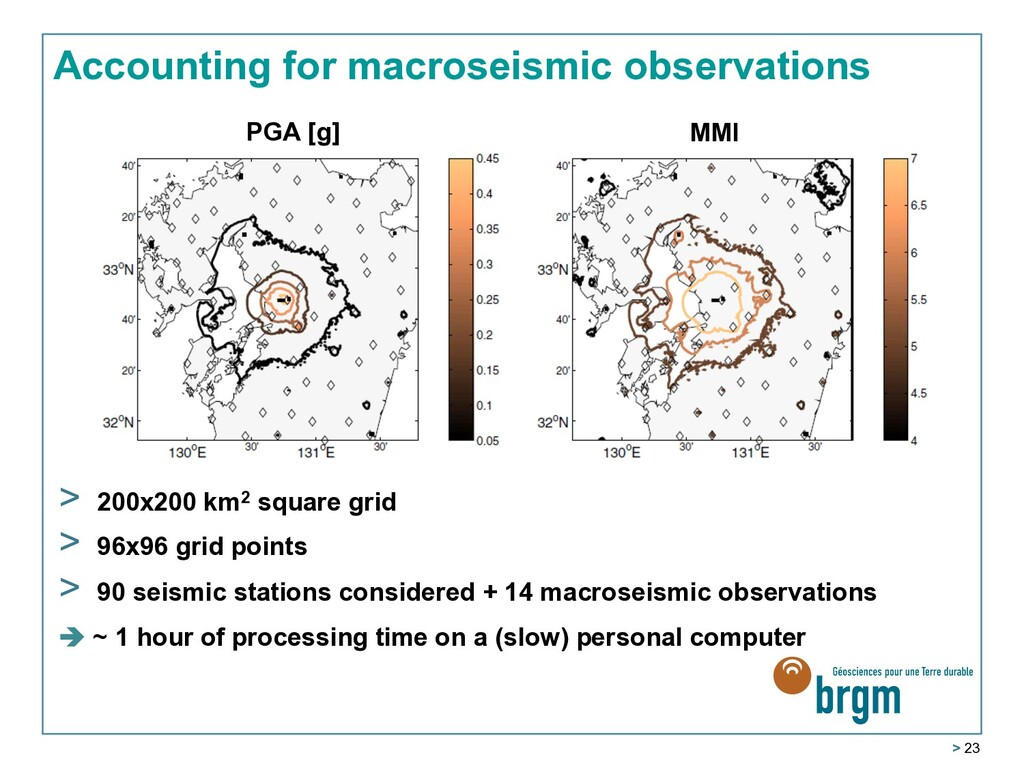 > 23 Accounting for macroseismic observations P...