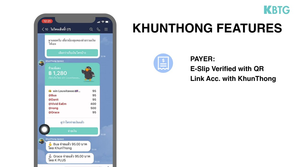 KHUNTHONG FEATURES PAYER: E-Slip Verified with ...