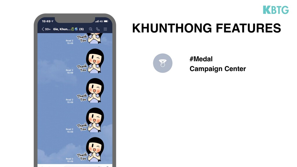 #Medal Campaign Center KHUNTHONG FEATURES