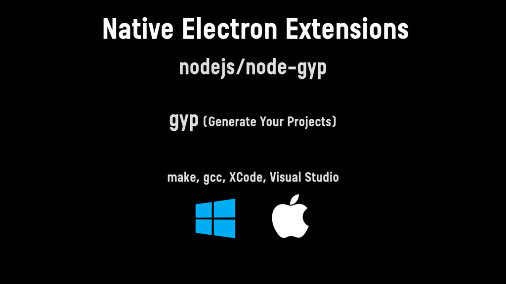 nodejs/node-gyp  gyp (Generate Your Projects) ...